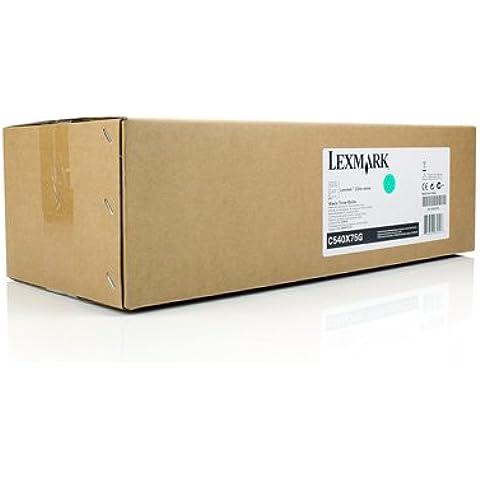 Depósito de tóner residual Original Lexmark Optra C 544 DN - 0C540X75G 00C540X75G , 0C540X75G , C540X75G - sin color - Original Páginas