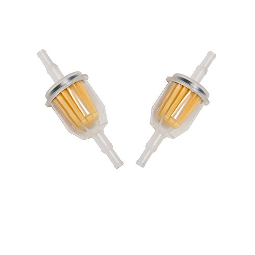 OuyFilters (Pack of 2) Fuel Filter For Kohler CH11-CH16 CH18-CH25 Replace Kohler 25 050 22-S John Deere AM116304 Craftsman 24688 Toro 71-5960 Yamaha Jn3-F4560-00 Toro 22 Rasenmäher