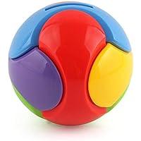 Preisvergleich für Oyanihin Plastic Bricks Hand Greifen Ball DIY Bunte Montiert Puzzle Spielzeug Sparschwein Kinder Baby Kind Frühe Pädagogische Montiert Spielzeug