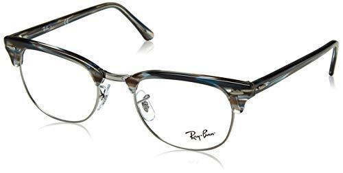 Ray-Ban Unisex-Erwachsene 0RX 5154 5750 51 Brillengestelle, Blau (Blue/Grey Spped),