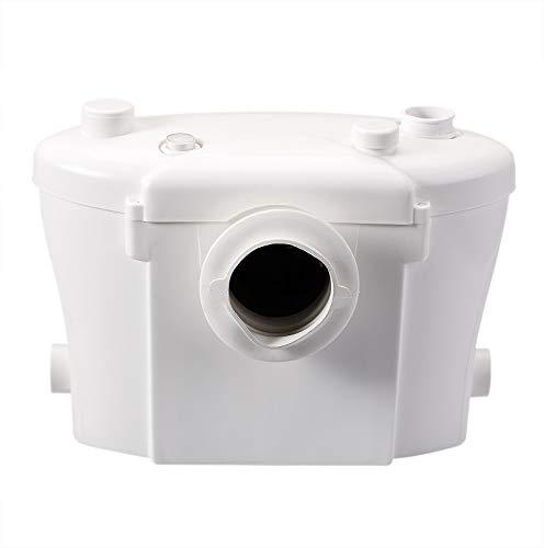 Broyeur sanitaire WC Silencieux avec filtre anti-odeurs avec Lames en acier inox 3 raccordements disponibles Type Sa