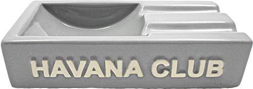 Grey grau Aschenbecher für 2 Cigarren. Made in France. ()