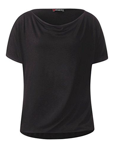 Street One T-Shirt Donna Nero (Black 10001)