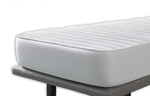 Velfont - Milbenschutz Matratzenauflage Zum Wenden - 140x190/200cm - matratzen-Topper | matratzenschoner | boxspringbett- verfügbar in Verschiedenen Größen - Komfort-topper