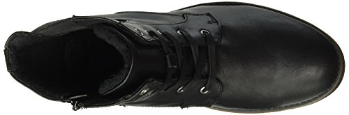 Dockers by Gerli 35IZ305-620100 Damen Combat Boots Schwarz (schwarz 100)