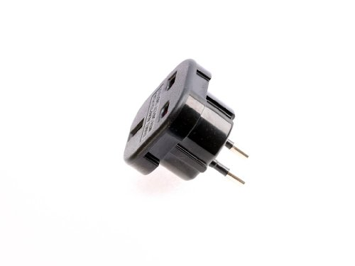 UK auf EU Europe AC Power Plug Travel Adapter Converter, 10A/16A 240V, CE, NEU - Travel Ac Power Plug