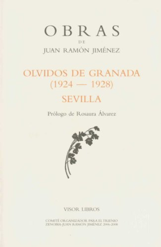 Olvidos de Granada - obras de Juan Ramón Jiménez (Obras Juan Ramon Jimenez) por Juan Ramon Jimenez