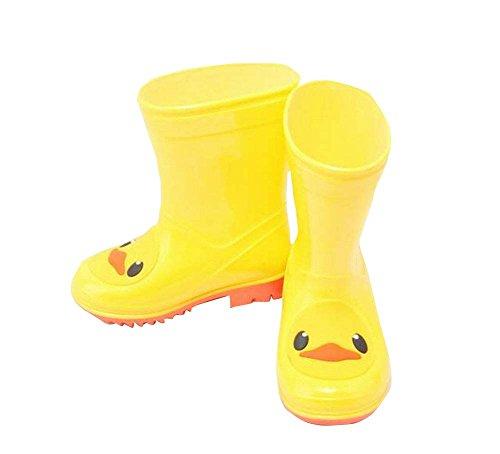 Cute Duck Chaussures de pluie pour garçons en plein air Protecteur de pluie utile