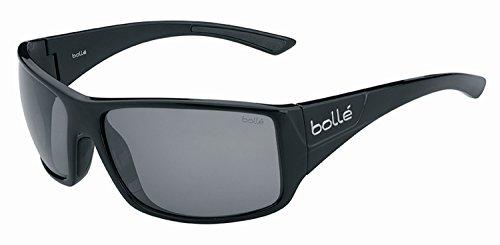bollé Erwachsene Tigersnake Sonnenbrille, Shiny Black, Large