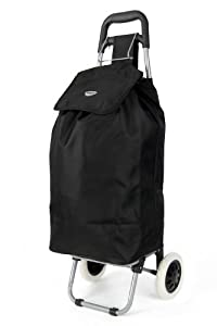 Hoppa Lightweight 2 Wheel Capacity Shopper Luggage Cart by Hoppa