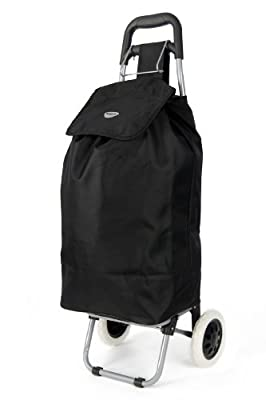 Hoppa Lightweight 2 Wheel Capacity Shopper Luggage Cart