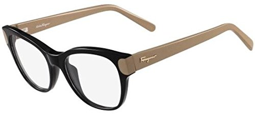 Salvatore ferragamo occhiali da vista sf2756 black nut donna