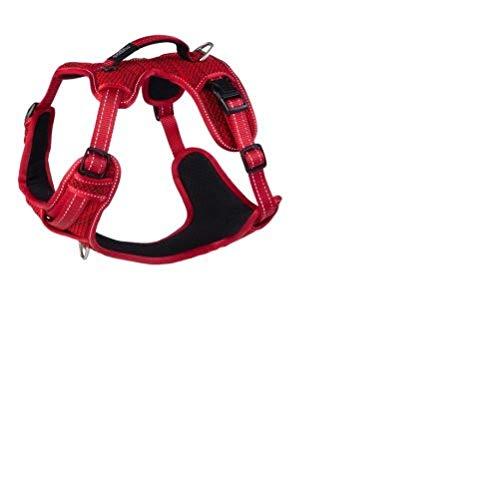 Rogz SJX06.C Explore Geschirr, L, rot