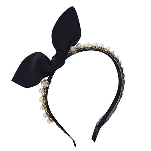 Dicomi Donna Creativo personalità Headwrap, Moda Carnevale Ragazza Headwraps Hair Bands Accessori archi Hoop Cerchietti 1 Pezzo Semplice Colore Puro Hairband
