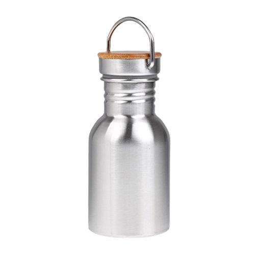 Nopea Edelstahl Trinkflasche Sportlich Flasche Wasserflasche Tragbare Flasche Bergsteiger Tourismus Becher Vakuum Becher Tragbare Cup