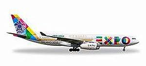 Herpa 529501-Etihad Airways Airbus A330-200Expo Milano