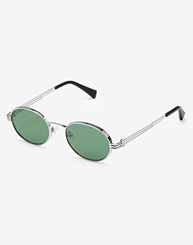 Hawkers X Boo Johnson Gafas de sol, All Silver · Green Bottle, One Size Unisex