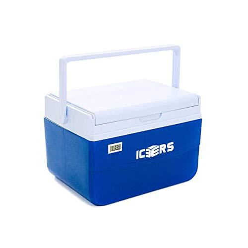 GUYUEXUAN Kühler, Hochwertige PU Inkubator Kühlschrank Fresh Drink Fresh Box 5L Tragbar Mit Temperaturanzeige (Capacity : 5l, Color : Blue)