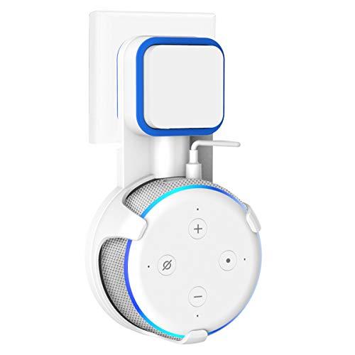 SPORTLINK Wandhalterung Halterung Ständer für Dot 3rd Generation, Aufgehängt Wall Mount Für Home Voice Assistants(Weiß) -