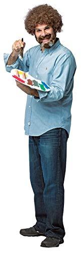 Morris Costumes Adult Bob Ross Kit ()