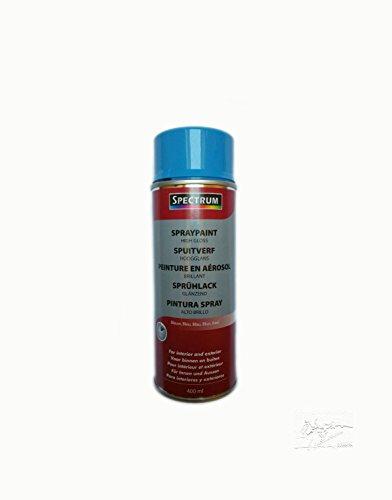 1 x Lack Farbe Spruehlack Lackfarbe Acryllack 400 ml blau glänzend
