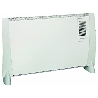 Honeywell HZ-823FE Turbo Fan Convector Heater - 2 kW, White/Grey