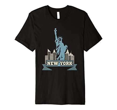 yline Manhattan Freiheitsstatue Shirt ()