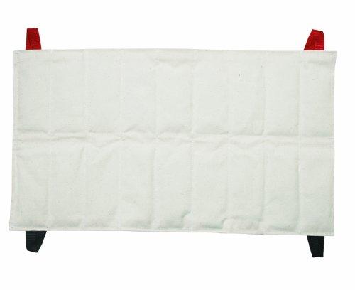 Wärmekissen (für die Wirbelsäule - kurz), Warme Kompresse, 25 x 46 x 2,5 cm -