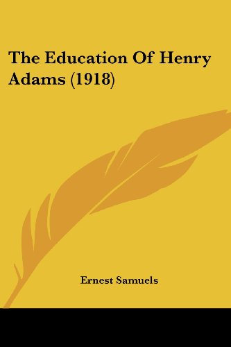 the-education-of-henry-adams-1918