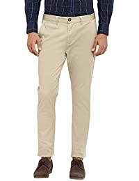 Red Tape Men's Solid Chino Casual Trouser