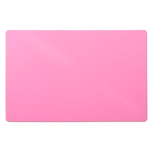 Trendige Bodenschutzmatte für Hartböden   PVC- und phthalatfrei   Pink   Größe wählbar (120 x 75 cm)