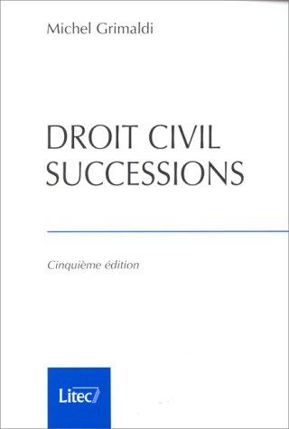 Droit civil. Successions (ancienne édition)