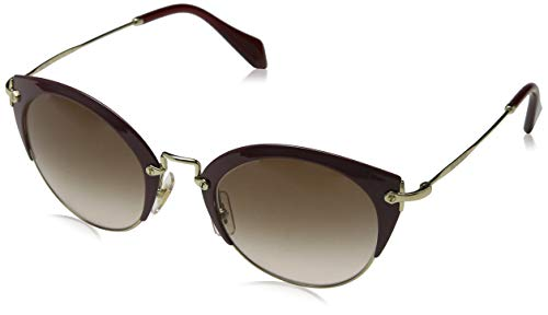 Miu Miu Unisex Noir MU13NS Sonnenbrille, Braun (Havana UBB2D2), One size (Herstellergröße: 49)