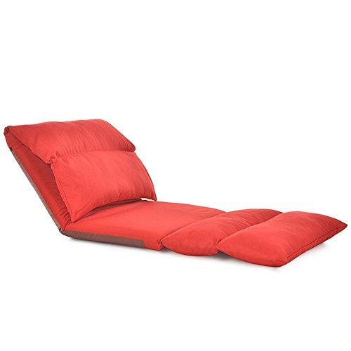 Liegestühle Amazing Fauler Stuhl Faltbarer waschbarer beiläufiger Balkon-Stuhl Indoor im Freien...