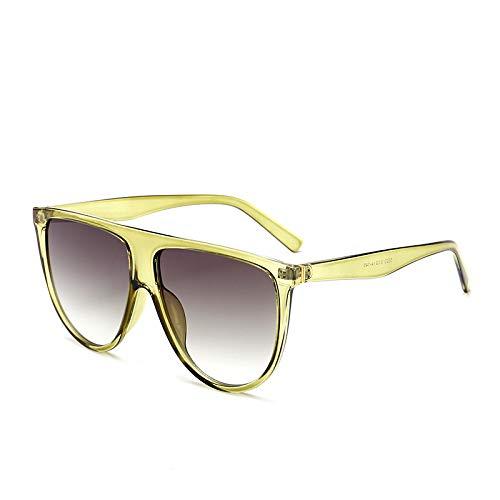 Brille Modetrend Big Box Sonnenbrille Europa und den Vereinigten Staaten große Marke mit dem gleichen Absatz Sonnenbrille graue Figur