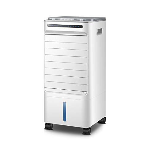 Refroidisseur d'air,climatiseur Mobile sans Evacuation Purificateur Dair Silencieux Climatiseur Portatif,pour Maison/Bureau (Color : White)