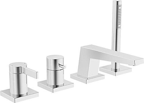 Hansa-Loft Kit EMB. Compact 4Elem./Einhebelmischer viereckiger Rosette chrom (57752083) -