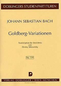 DOBLINGER BACH J.S. - GOLDBERG-VARIATIONEN FÜR STREICHTRIO
