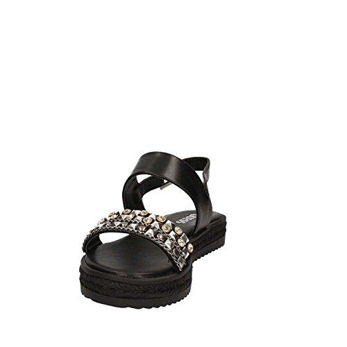 Guess Ara Fabric donna, sintetico, sandali Black