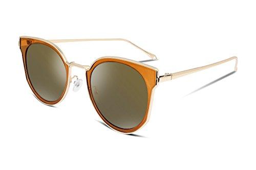 FEISEDY Damen Sonnenbrille, schwarz, B2206-005-F