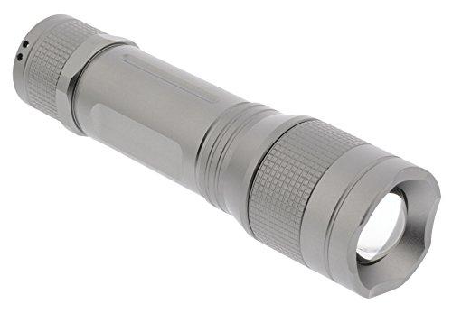Premium 5 Watt Hochleistungs-LED Taschenlampe - 330 Lumen - IPX5-Aluminiumgehäuse