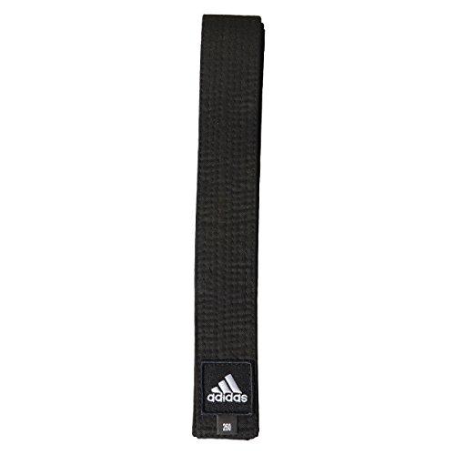 Cintura adidas elite nera judo karate arti marziali (280 cm)
