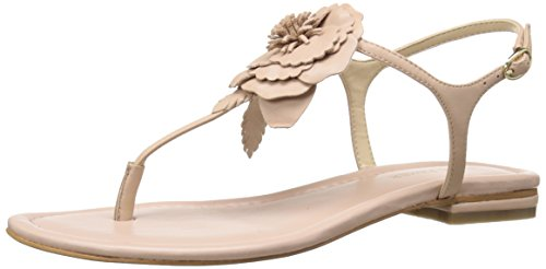Marc Fisher Elysone Cuir Tongs Light Pink