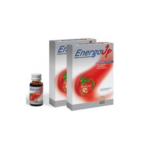 ABOCA - PLANTA MEDICA ENERGO UP CONFEZIONE SPECIALE 1 + 1 integratore energizzante