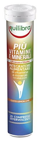 Equilibra Integratore Alimentare Più Vitamine e Minerali- 20 Compresse - [confezione da 3]