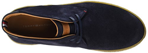 Tommy Hilfiger Herren L2285ogan 2b Sneaker Blau (mezzanotte)