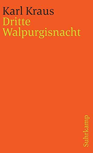 Schriften, Bd. 12: Dritte Walpurgisnacht