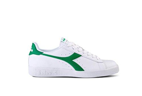 Diadora game p - bianco-verde