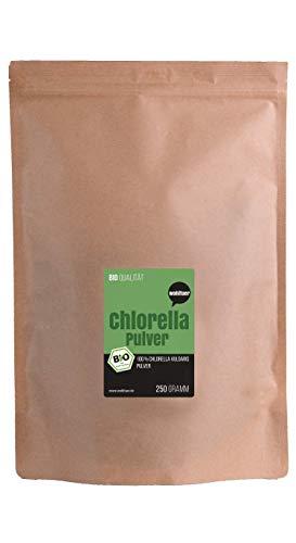 Reinigende Diät-detox (Wohltuer Bio Chlorella Pulver 250g in Rohkostqualität (DE-ÖKO-006))