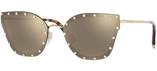 Valentino Sonnenbrillen VA 2028 LIGHT GOLD/BROWN GOLD Damenbrillen